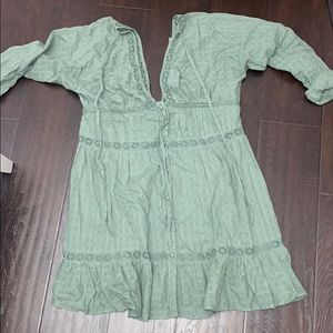 Green Casual Dress